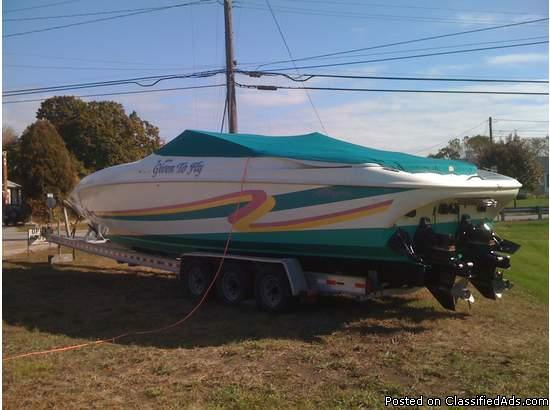 1996 BAJA .38 Special - Price: 41000.00 in Weymouth, Massachusetts For Sale