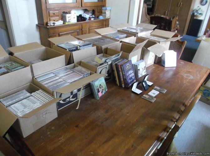 1500 BRAND NEW CHRISTIAN CD's / DVD's / AUDIO BOOKS / SEMINARS