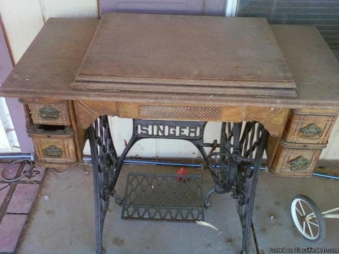 1902 singer sewing machine
