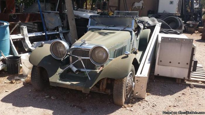 1937 jaguar SS100 kit, make offer