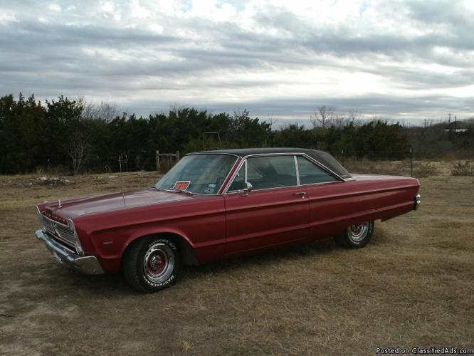 1966 Plymouth VIP - Price: $ 6,500.00