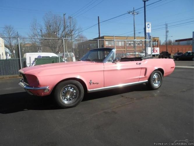 1968 Ford Mustang Convertible For Sale In Portland, Oregon 97212
