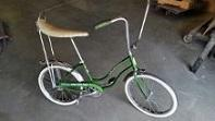 1968 Schwinn Stingray Slik Chik bicycle