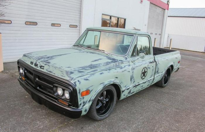 1970 GMC / CHEVY MILITARY TRIBUTE C10 SHORT BED V8 MANUAL