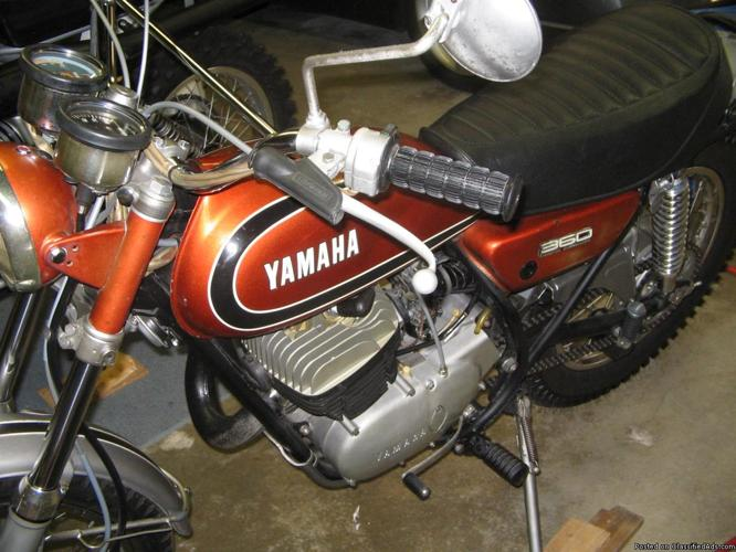 1973 yamaha 360 RT1