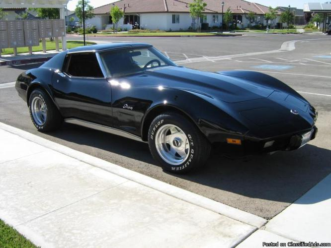 1975 corvette stingray price 12 500 firm in fresno california. Cars Review. Best American Auto & Cars Review