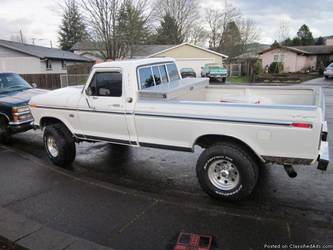 1974 Ford Highboy For Sale http://springfield-ar.cannonads.com/97478/cars/1976-ford-highboy-price-300000_17317934.html