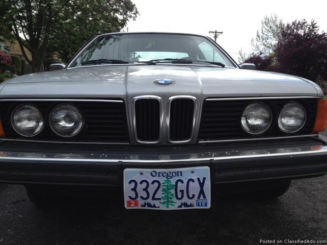 1978 BMW 633csi