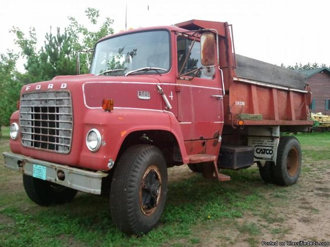 1978 Ford 7000 Dump Truck for sale - Price: $ 2,100.00
