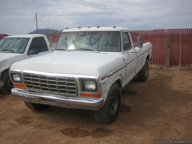 1978 ford f350 camper special price 1000 00 in casa grande arizona cannonads com