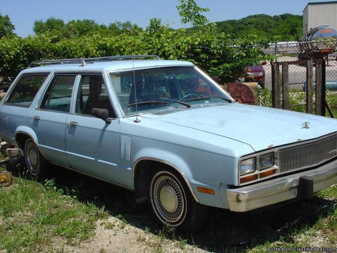1980 MERCURY ZEPHYR STATION WAGON - Price: $1,300