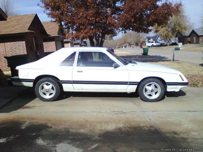 1984 ford mustang for sale - Price: 2950.00orbest offer