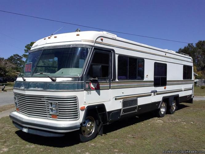 1984 Holiday Rambler Imperial 33' Class A