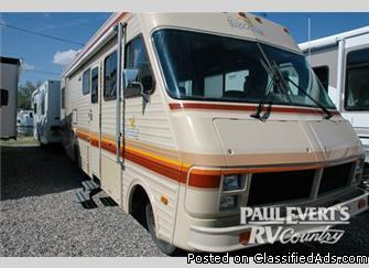1986 Fleetwood Rv Bounder 32 Motor Home Class A Price 7577 In Fresno California