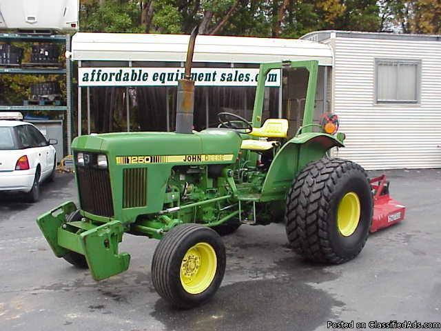 1986 John Deere Model 1250 Tractor - Price: 6,995