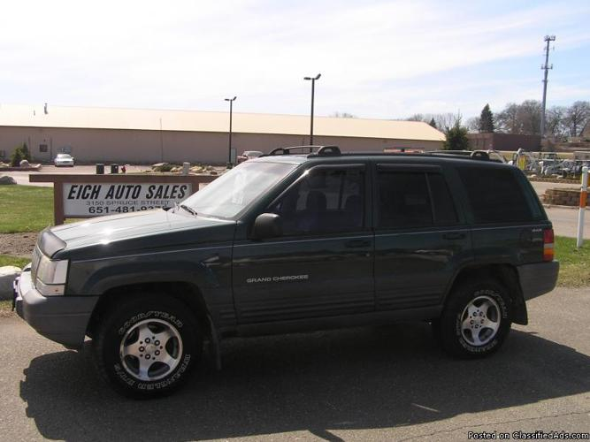 1996 jeep grand cherokee laredo 4x4 price 3300 in little canada. Cars Review. Best American Auto & Cars Review
