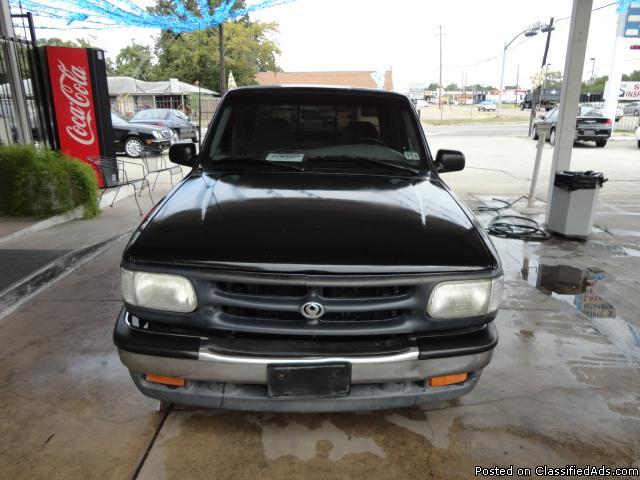 1996 MAZDA B SERIES TRUCK-BLK-$2495.00_Please call HARRY AT : 832-282-1653