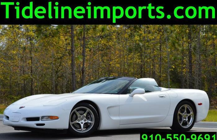 1998 Chevy Corvette, Low Miles, White Convertible, 36k miles!