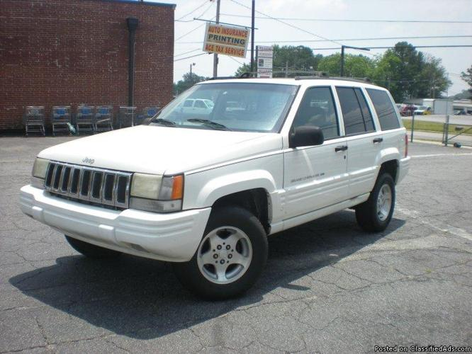 1998 jeep grand cherokee laredo price 3299 in marietta georgia. Cars Review. Best American Auto & Cars Review