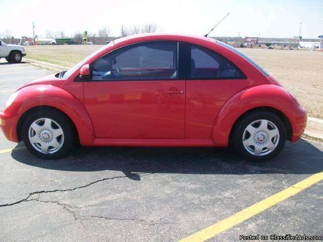 1998 Volkswagen New Beetle - Price: 3200