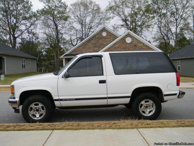 1999 chevy tahoe 2 door sport   price 4000 in hampton arkansas