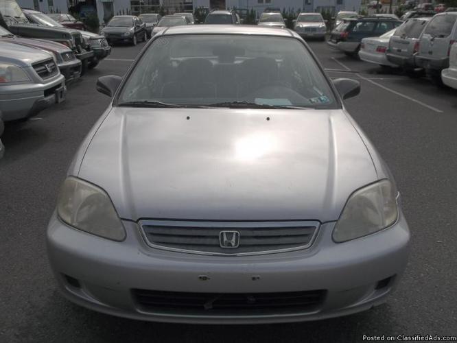 1999 Honda Civic DX Warranty Included )