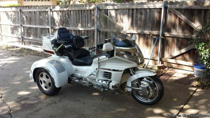 1999 Honda Goldwing Trike