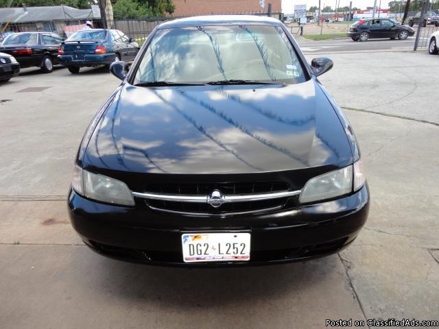1999 NISSAN ALTIMA-BLK-AUTO,$3495.00_Please call HARRY : 832-282-1653