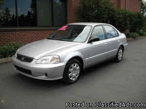 2000 Honda Civic VP 4D - Price: 3950