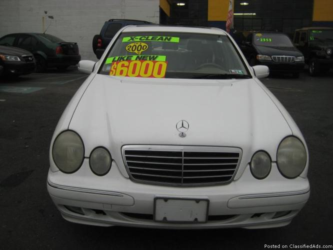 2000 Mercedes Benz E Class E 320 ( Warranty Included )