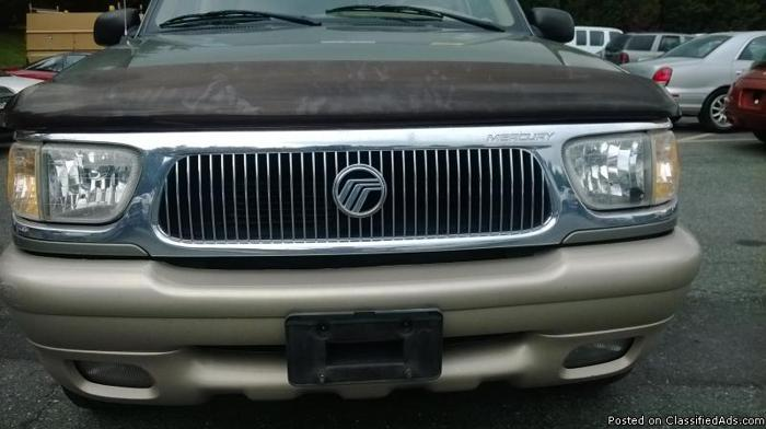 2000 MERCURY MOUNTAINEER 4W/D