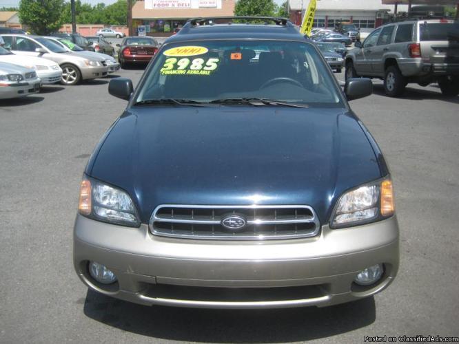 2000 Subaru Outback AWD ( Warranty Included )
