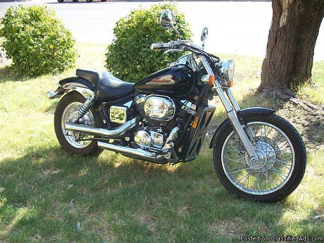 2001 750 honda shadow spirit