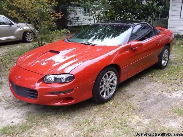 2001 Chevrolet Camaro SS/SLP . 450hp, 6 speed, 55,157 Miles . Excellent Condition