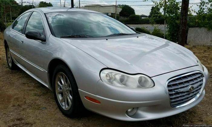 2001 Chrysler LHS Sedan * $2500 * 76K Miles, Leather, SUNROOF, COLD A/C!