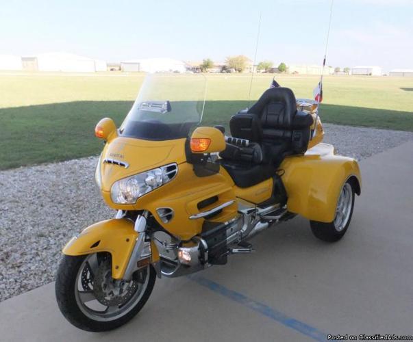 2001 Honda Goldwing GL1800