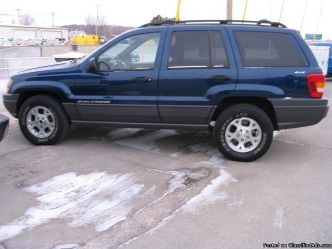 2001 jeep grand cherokee laredo price 7 495 in council bluffs. Cars Review. Best American Auto & Cars Review
