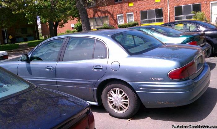 2002 Buick Lesabre - Price: $1800 b/o
