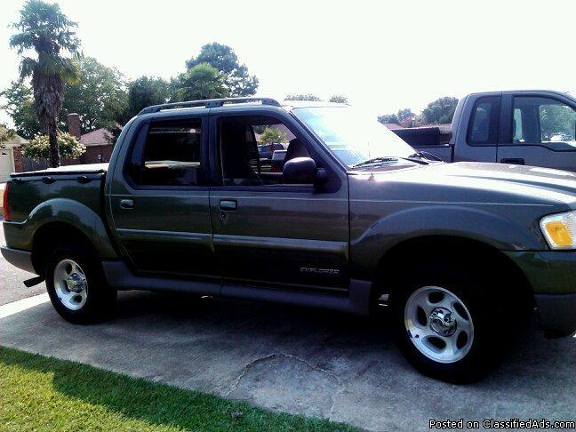 2002 ford explorer sport trac price 6 100 in sumter south carolina. Cars Review. Best American Auto & Cars Review
