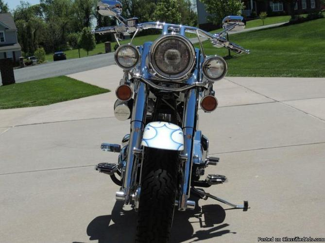 2002 Harley Davidson Fat Boy Softail