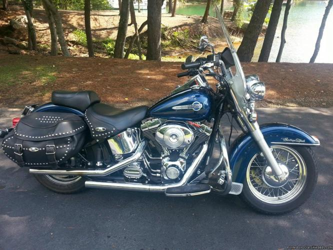 2002 Harley Davidson Softail Heritage Classic Fuel Injected FLSTCI