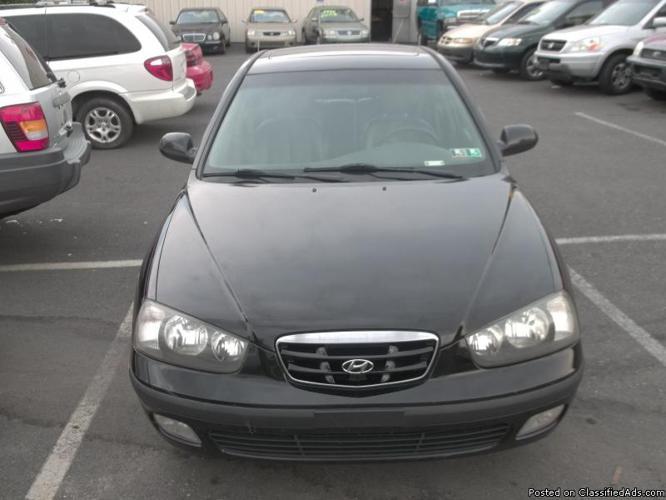 2002 Hyundai Elantra GT (Warranty Included )