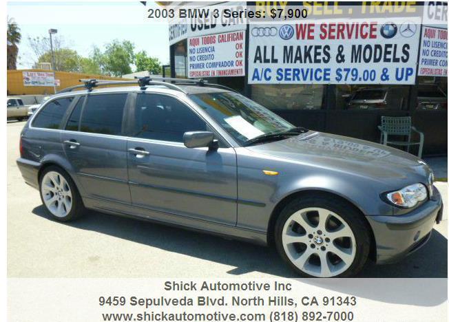 ? ?2003 BMW 3 Series Gray 110872 miles? ?