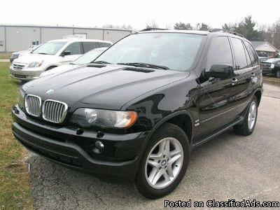 2003 BMW X5 4.4i - Price: 11200