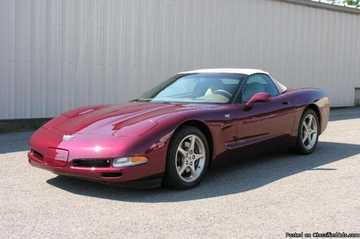 2003 Chevrolet Corvette Convertible - Price: 17900