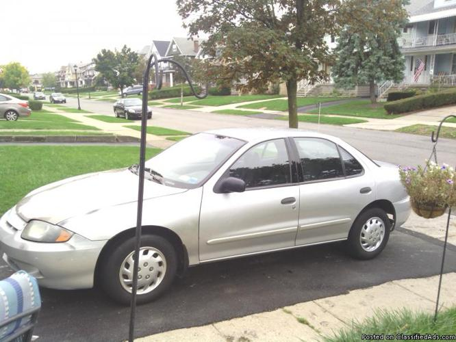 2003 Chevy cavailier - Price: 1500