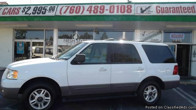 2003 Ford Expedition Bad Credit No Credit No Problem