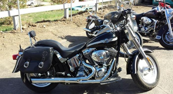2003 Harley Davidson Fatboy Anniversary