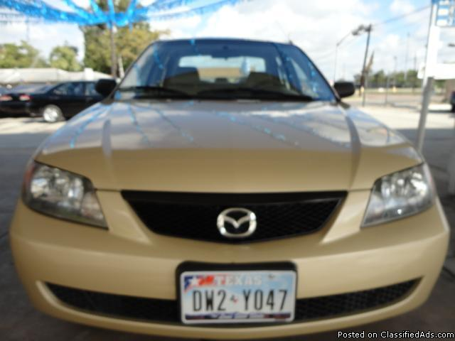 2003 Mazda Protege-Gold-Auto, $ 3995.00- Please call HARRY at : 832-282-1653-