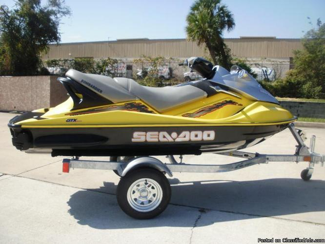 2003 Sea Doo GTX, Supercharged, We Finance, Instant Credit Approvals